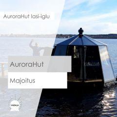 AuroraHut -majoitus TOUKOKUU